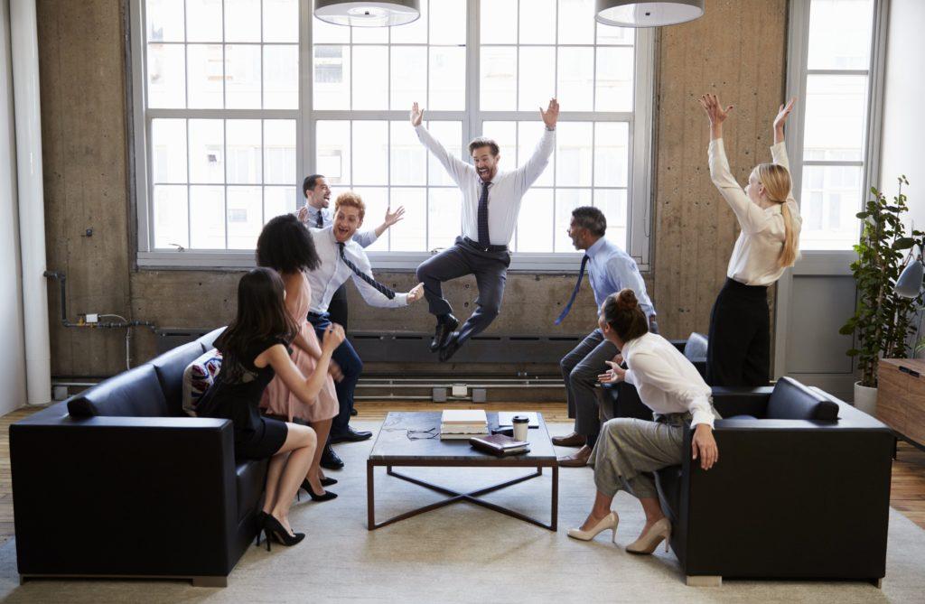 Веселье в офисе