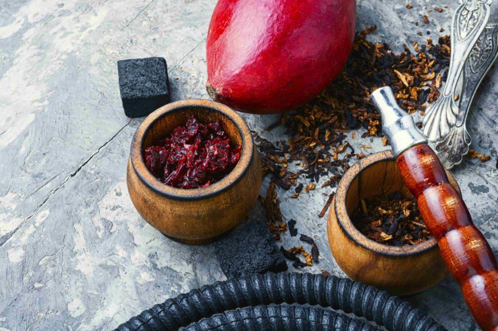 Курительный набор с фруктами