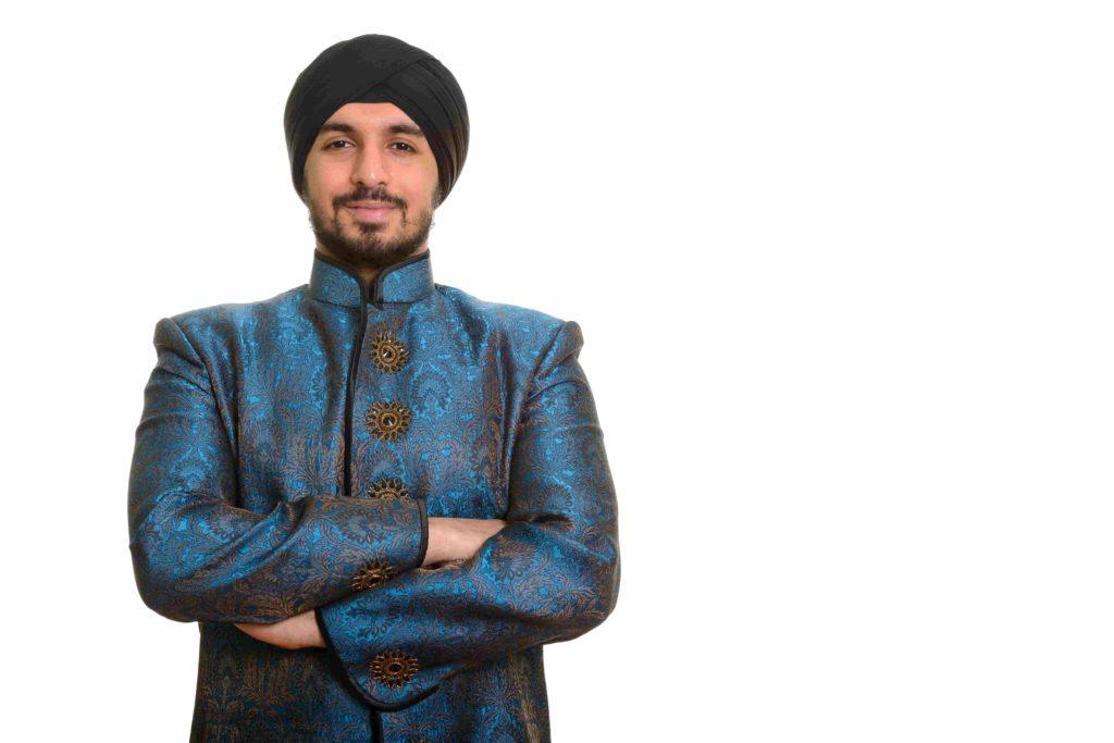Индийский мужчина